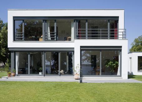 Clarke und kuhn freie architekten berlin for Haus modern flachdach